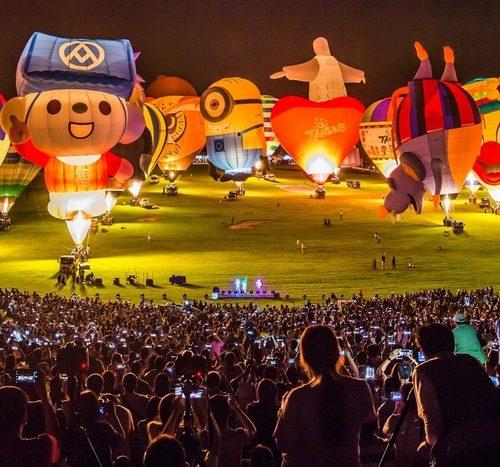 熱氣球季專區
