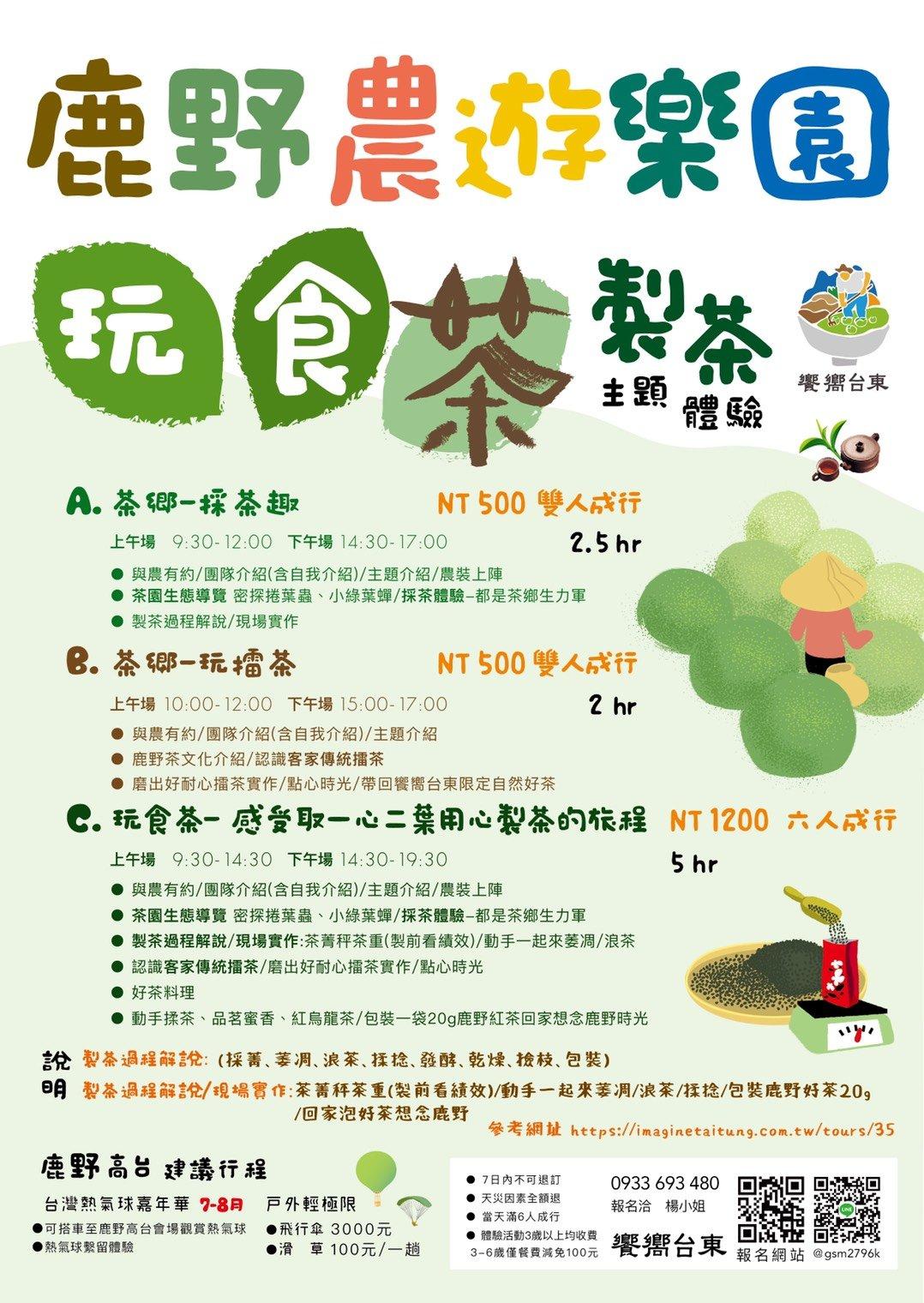 2019鹿野農遊樂園好喫果_玩食茶