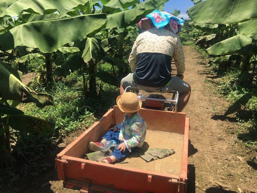 農事體驗-小型搬運機教學